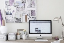 Workspaces | Home Office / Home office inspiration