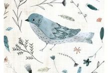 Birds & Feathers | Art Inspiration / Bird and feather inspiration for art projects