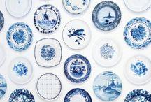 Blue & White Board / by Rachel G
