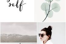 Moodboards & Swatches / Moodboards and collages - design inspiration and brand concepts