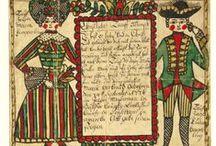 Folk Art - Fraktur, Paper Cuts, Sherenschnitte