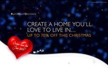 Create a Home You'll Love To Live In This December / Get your home prepared for the Festive Season! Enjoy up to 70% off and free delivery over £99!