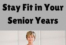Fitness Fun / Fitness for seniors! Stay healthy and in shape! #exercise www.weatherlyinn.com