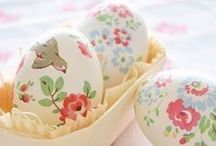 Easter Memories / Do you have memories of Patent Leather shoes, stuffed Easter bunnies, and pretty dresses?