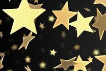 Stars / Whether it's stars in the sky or star decor for your home, stars always bring a delight of beauty and freedom!