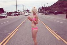 GO WEST / The story of a girl who loved roadtrips, roping cattle, and wearin' bikinis along the PCH. / by WILDFOX