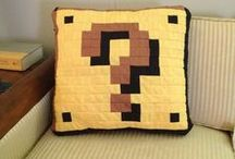 Video game quilt inspiration