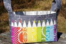 Hour Basket / Inspiration and ideas for One Hour Basket (Pattern by Kelby Sews