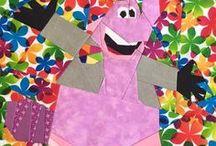 Pixar Quilt #fandomquiltbee2