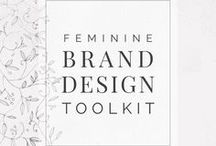 Design Your Own Brand | Starter Kit for Bloggers & Boss Ladies / Collection of feminine / creative design assets and other resources to help you get started with your creative business or blog branding. The ladypreneur | femtrepreneur | boss babe | ladyboss | girlboss business starter toolkit with fonts, logos, flat lays, themes, blog and social media packs. Create your own branding and website on a budget.