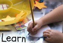 Fun Education Ideas /  Lots of fun educational ideas for play based learning. Great ways for parents to support their children at home and instil a  love of learning which will last a lifetime.