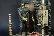Horror & Sci-Fi Model Kits And Figures / by Joanne Honer