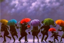 Under The Umbrella / An interesting look at what we find under the umbrella....... / by Joanne Honer