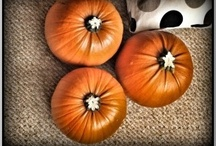 Halloween and Autumn / Ideas for crafts and cooking in Autumn and Halloween