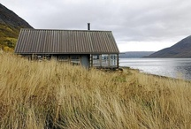 """Cabins :: Retreat / """"Where Do You Go To Disappear?"""" Tina Dickow / by Rikke Majgaard"""