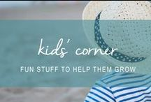 kids' corner / Crafts, gifts and faith-based fun stuff for kids.
