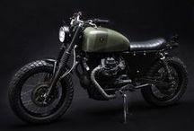 Tractor V75  / Scrambler Moto Guzzi 750 cc custom made