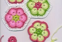 CROCHET AND NEEDLE CRAFTS / Crochet and needle work / by Susan Harris Seeley