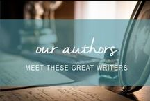 our authors / Meet the great group of authors we work with.
