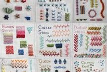 stitchy things: embroidery / embroidery and the like