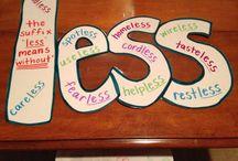 Vocabulary / Word Work / by Jill Hecker