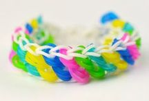 Loom Band Ideas / Rainbow loom activities for kids / by Rebecca English