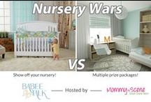 Nursery Wars Contest - Baby Nursery Design Ideas / The Nursery Wars contest hosted by Babee Talk has begun! We gave parents the chance to submit a photo of their own creatively designed baby nursery, and now it's time for the fans to vote for their favorites! Everyone who votes can also enter to win an awesome prize pack! Fans can repin, like, share to Facebook, and comment to vote for your nursery photo. Follow the link to enter: http://www.babeetalk.com/pages/nursery-wars-giveaway-page