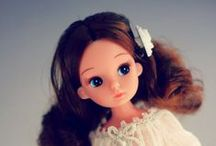other dolls I might need in life / Licca, Sindy (& Tammy & Susi), Lottie, etc.  - other fun dolls that aren't Blythe.