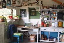 Sheds / Outdoor spaces, studios, garden shed, she caves