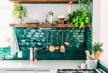 Kitchen Inspirations / Kitchen surfaces, kitchen design & ideas