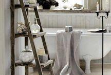 Bathroom Ideas / Bathroom decorating and storage solutions
