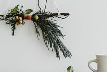Christmas Ideas / Christmas decor, table settings, things to make and images to inspire for the Holidays