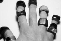 Wooden ring / Takı aksesuar