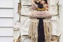 Weaving / Weaving. Wall hangings and beautiful looms