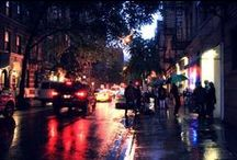 City at Night / NYC after the sun sets / by Maitreya Levanchild