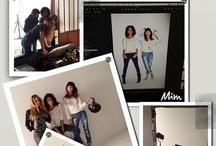 Making of ! / Entrez dans les coulisses des shooting photos ! #mim  / by Mim
