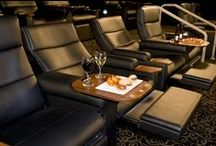 Gold Class / As you enter into the exclusive Gold Class lounge you will be greeted by one of our friendly staff welcoming you to this ultimate experience. The Gold Class theatre is an intimate setting that seats no more than 30-54 people where guests can relax in the comfort of plush reclining chairs. A delicious new food & beverage menu provides a fantastic selection to add to your experience and one of our waiters will bring this into to you while you enjoy the movie - just make sure you keep room to enjoy