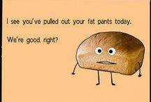 Laughing burns calories / Weight loss humor. Because laughing burns calories! Free ab workout!
