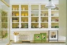 The Butler's Pantry / I grew up in a SF Victorian and we had the honor of having a butler's pantry...hold the butler. Since then I am obsessed with butler's pantry's and pantry's in general and I WILL have one in my home! / by ♕Tiana