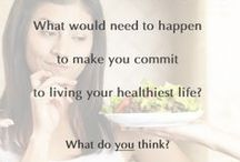 What do you think Wednesday / What do you think about these weight-related topics/ideas?
