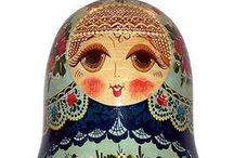✤ Matryoshka ✤ Matrioska Russian Dolls / by Mademoiselle Samantha