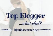 Top Blogger, What Else?! / Pin your awesome blog posts here and re-pin others. Please play nice and be smart, don't just dump and go. NO advertising, NO sales, NO adult content! 'FOLLOW MY ACCOUNT' and send e-mail to support@klaudiascorner.net to be added!
