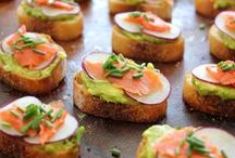 Appetizers / Party foods, snacks and other ideas for serving food at your next party.