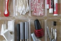 Organization Ideas / I was formerly a Professional organizer.  I love plastic bins and label makers.  I am always looking for new ways to get organized!  Collaborate with us: http://www.womanlywoman.com/pinterest-collaboration-request