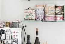 Dream Home / oriental, boho, rusty, floral, white, pink, turquoise