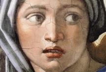 Michelangelo di Lodovico Buonarroti Simoni[ / by Beata Krawczyk