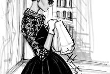 LADY IN BLACK / by Beata Krawczyk