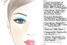 Get-The-Look / Christina's customize facecharts to show you how to achieve different looks with Christina Choi Cosmetics.