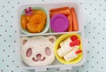 Bento! / Cute bento lunch ideas for the kids / by Gwenny Penny