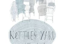 Illustration Series / Beautiful sketches of Kettle's Yard by Illustration students from the Cambridge School of Art   http://www.kettlesyardonline.co.uk